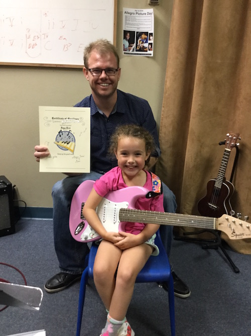 Guitar Lessons at Allegro School of Music. Tucson, AZ