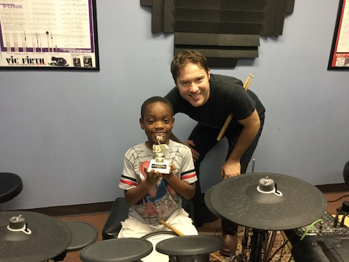 Drum Lessons at Allegro School of Music. Tucson, AZ