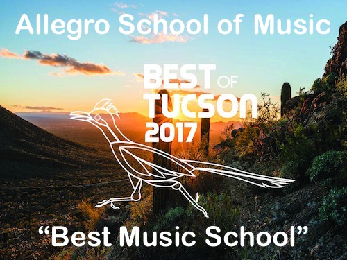 Best Music School in Tucson 2017