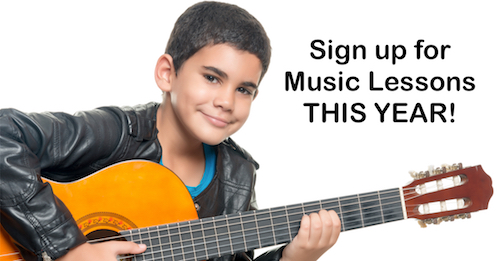 Request Information about Music Lessons